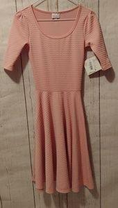 Blush Pink Nicole XXS LulaRoe Dress